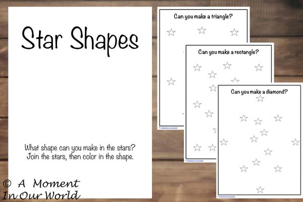 {FREE} Printable Star Shapes