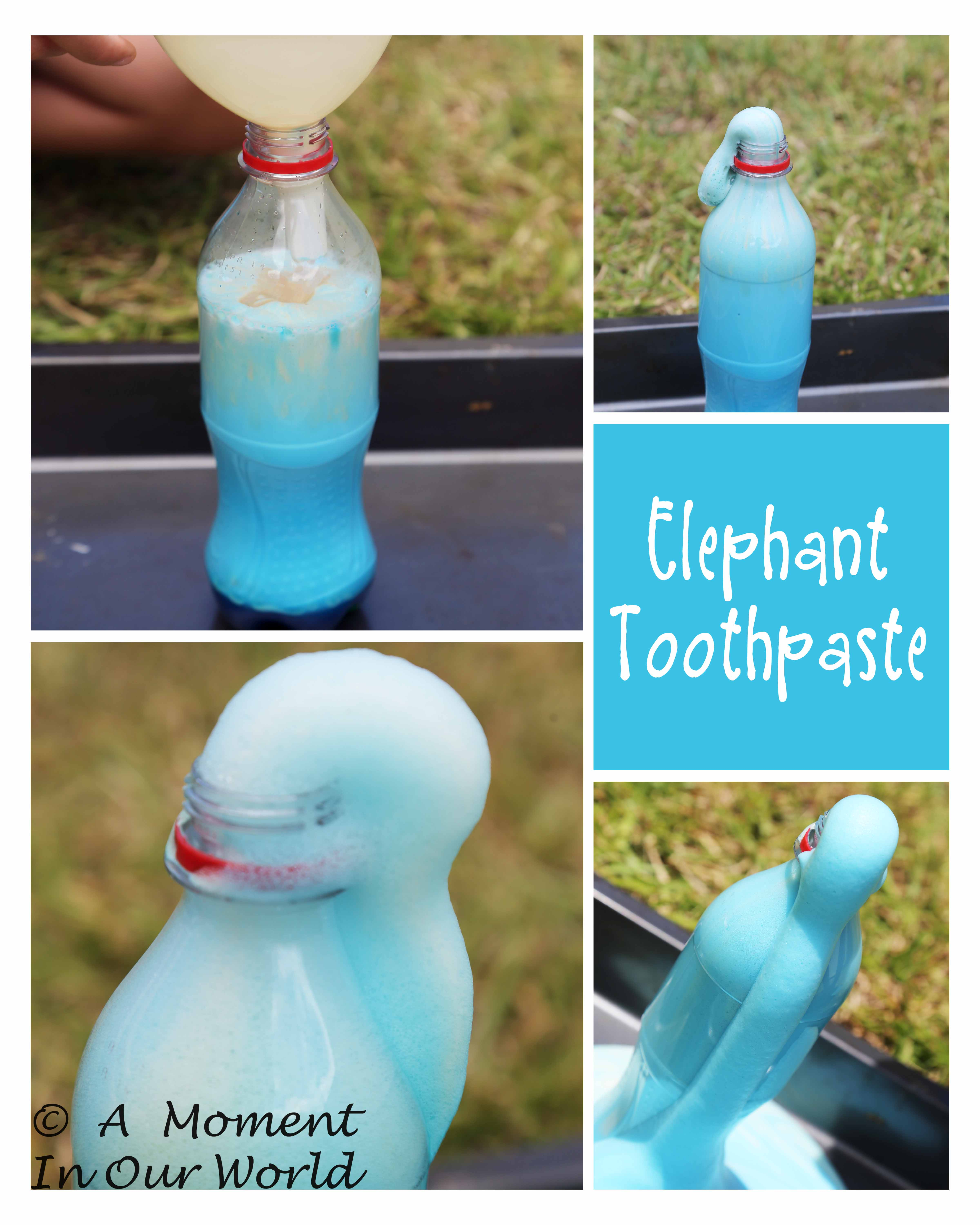 How to Make Elephant's Toothpaste
