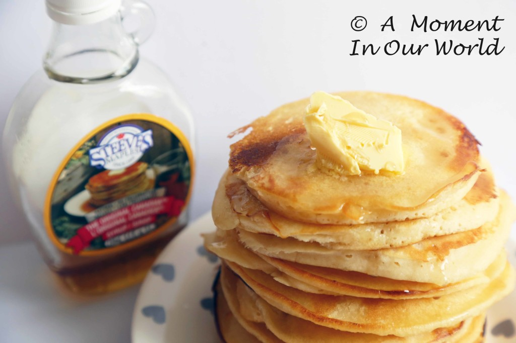 maple syrup pancakes 2