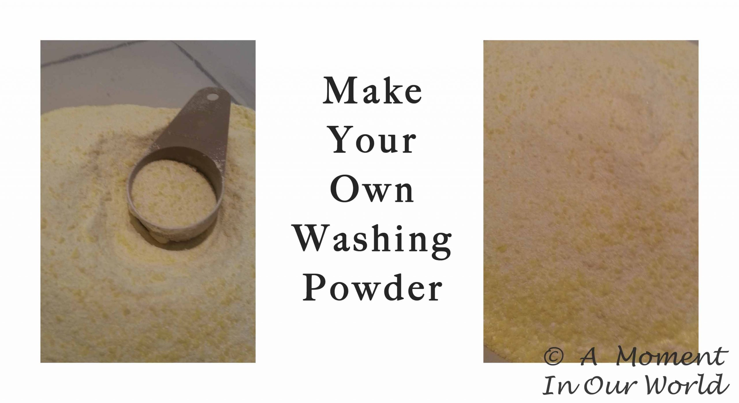Make your own Washing Powder