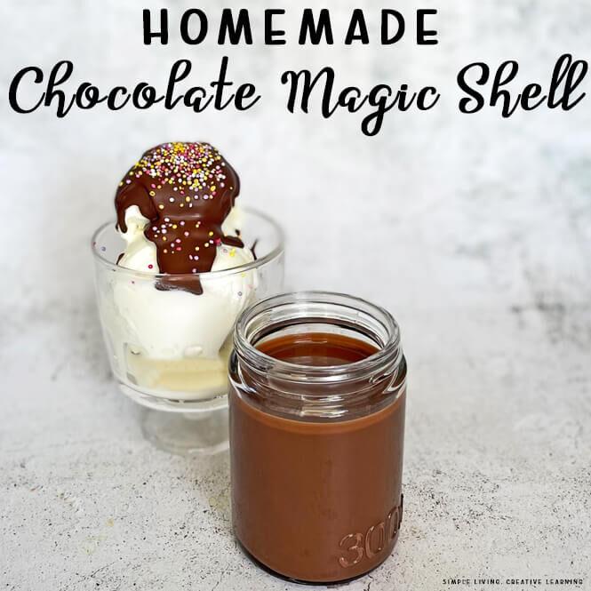 Homemade Chocolate Ice Magic Shell
