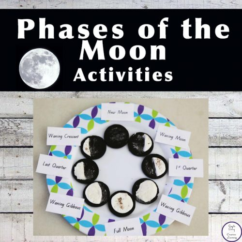 These activities are a great way for kids to learn the phases of the moon.
