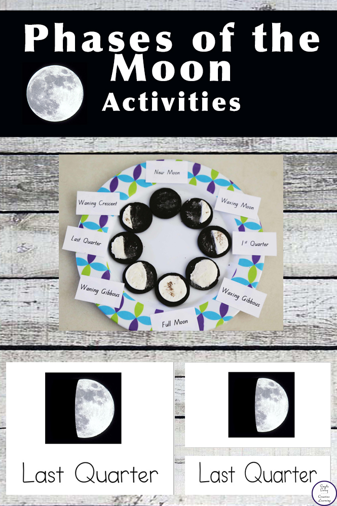 photograph relating to Printable Moon Phases titled Free of charge Printable - Stages of the Moon - Easy Dwelling