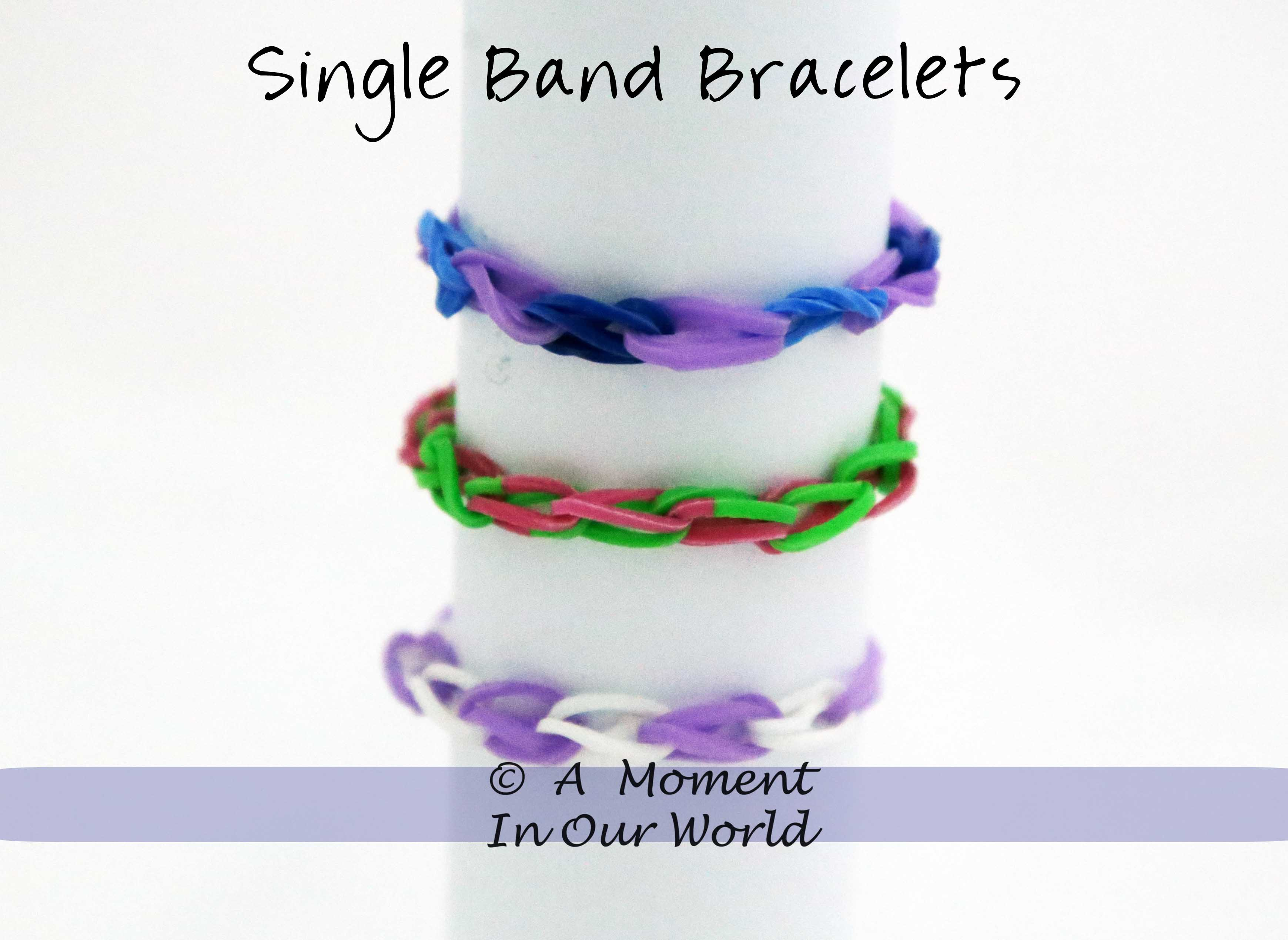 simple loom band instructions