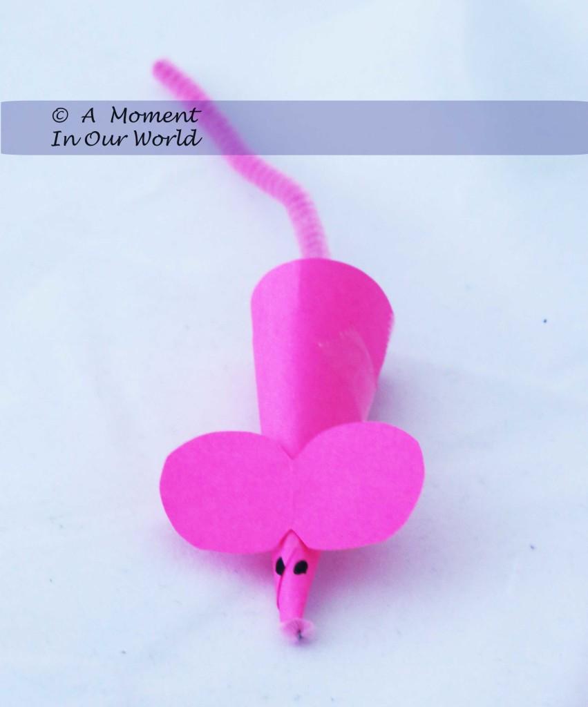 Finger Puppet Mouse