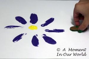 Rock Flower Painting