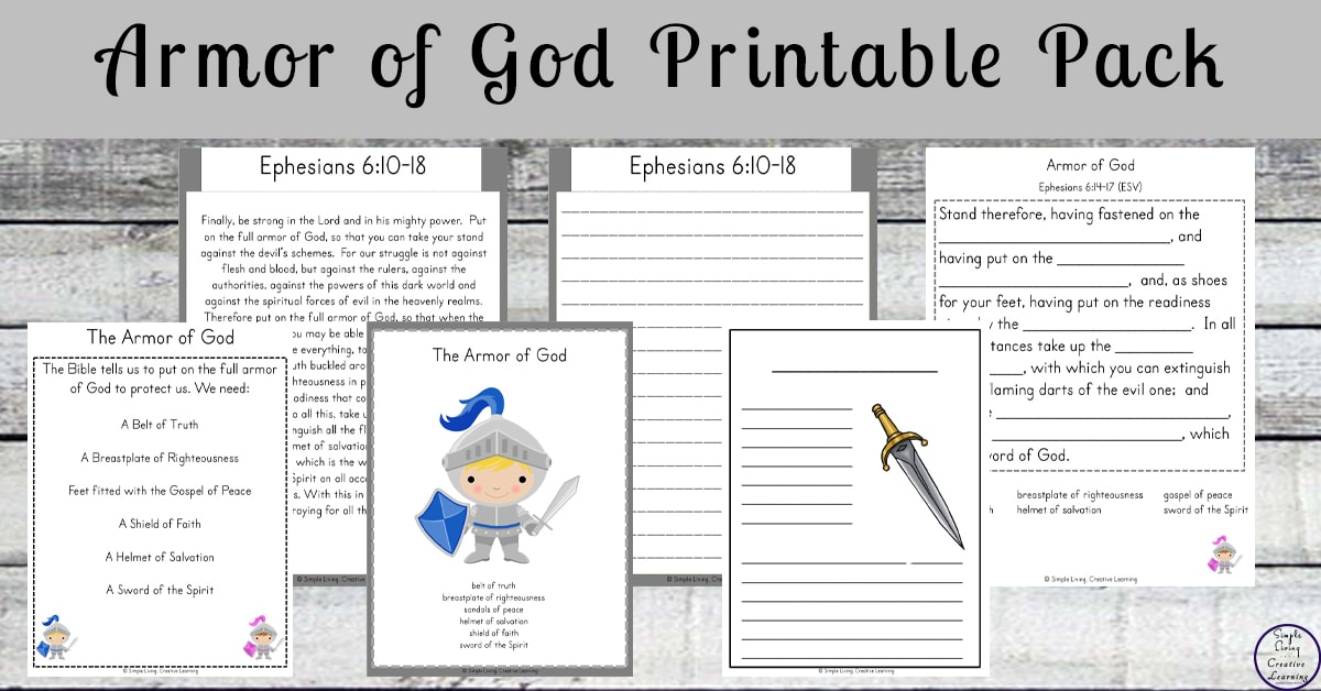 photograph relating to Armor of God Printable known as Armor of God - A Minute inside of our Earth
