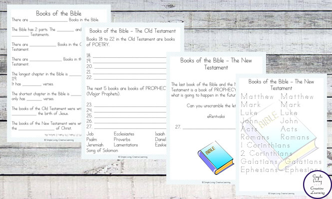 picture regarding Books of the Bible Printable named Guides of the Bible