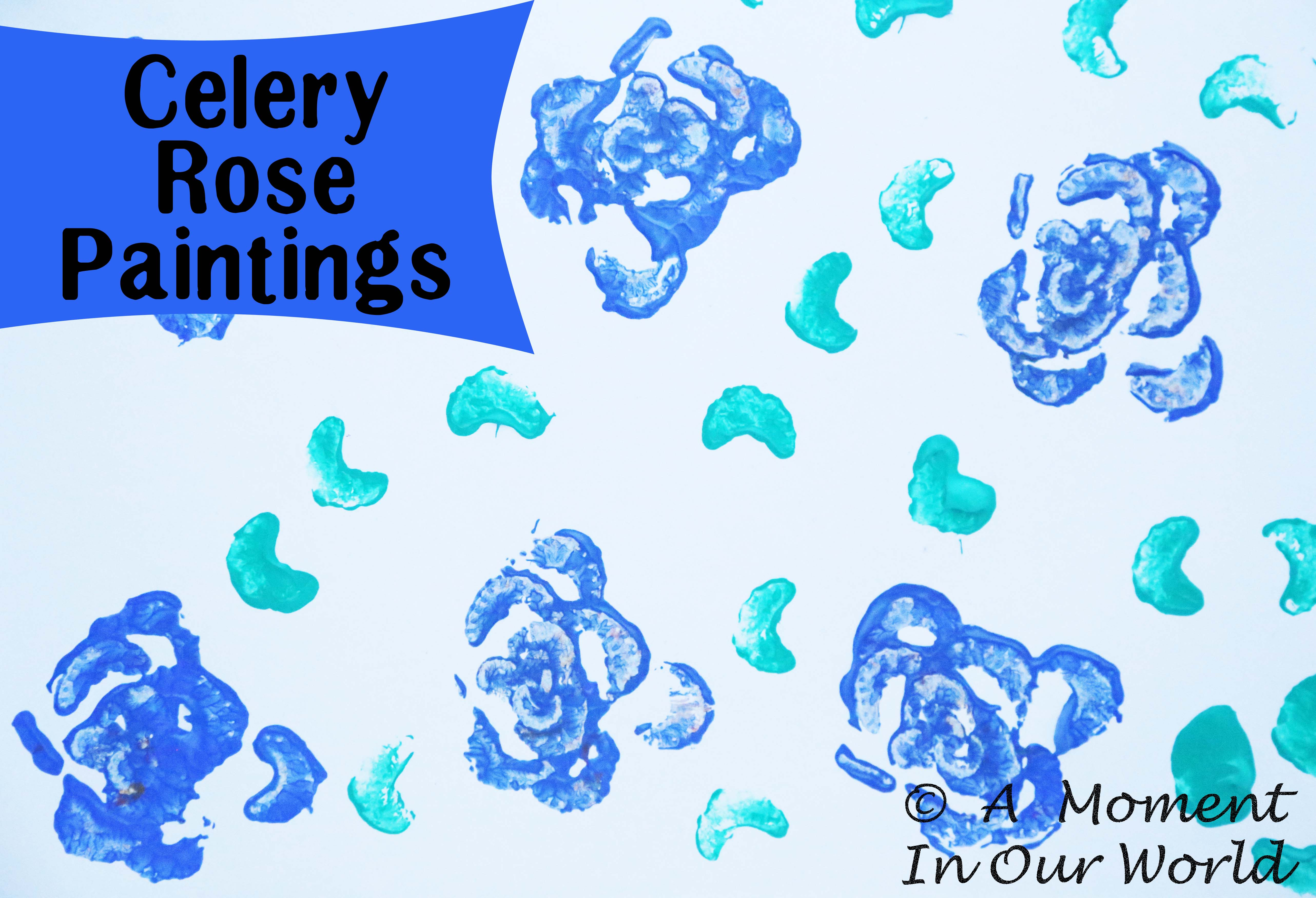 Celery Rose Paintings