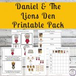 This Daniel and the Lions Den Printable Pack will help children learn about this amazing story of faith and courage.