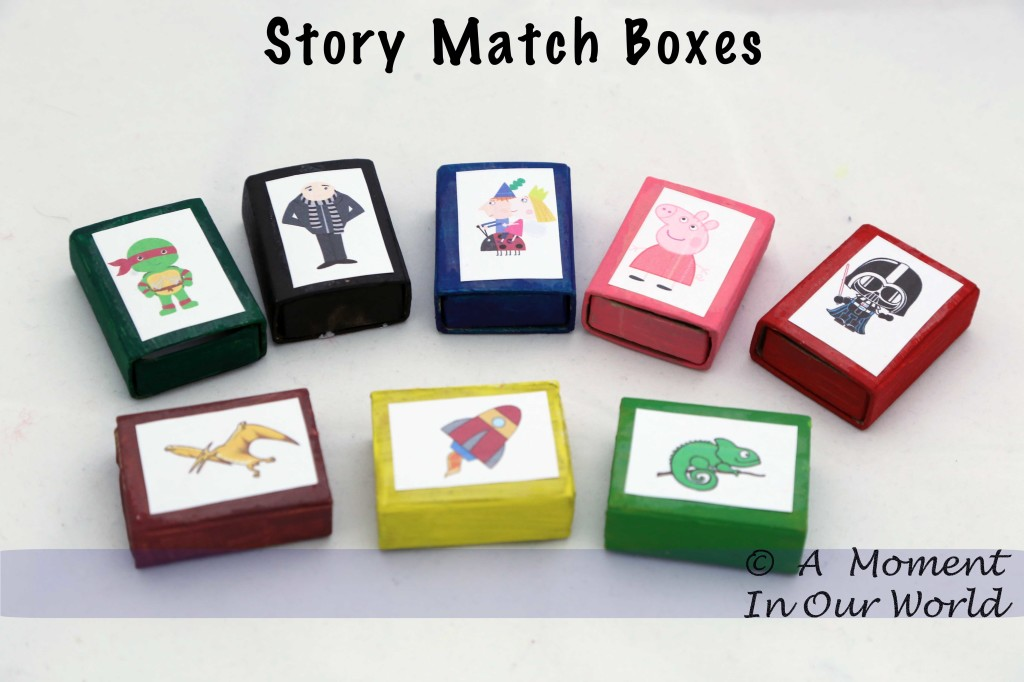 Story Match Boxes