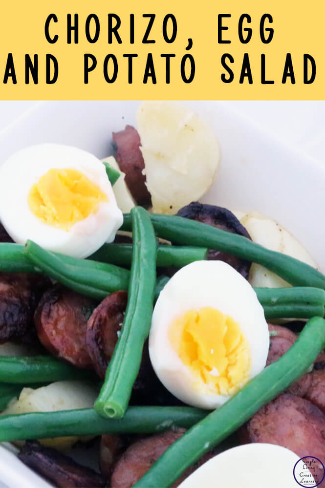 This Chorizo, Egg and Potato Salad is so yummy and is definitely a recipe that we will be making again!