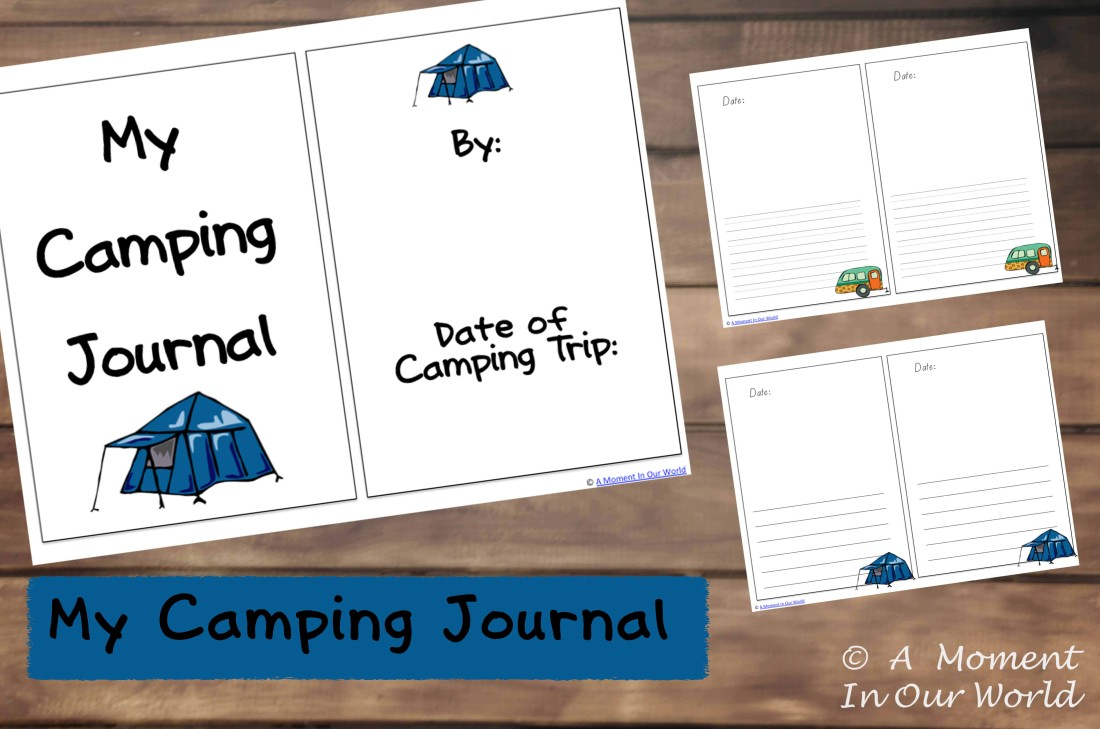 My Camping Journal Picture