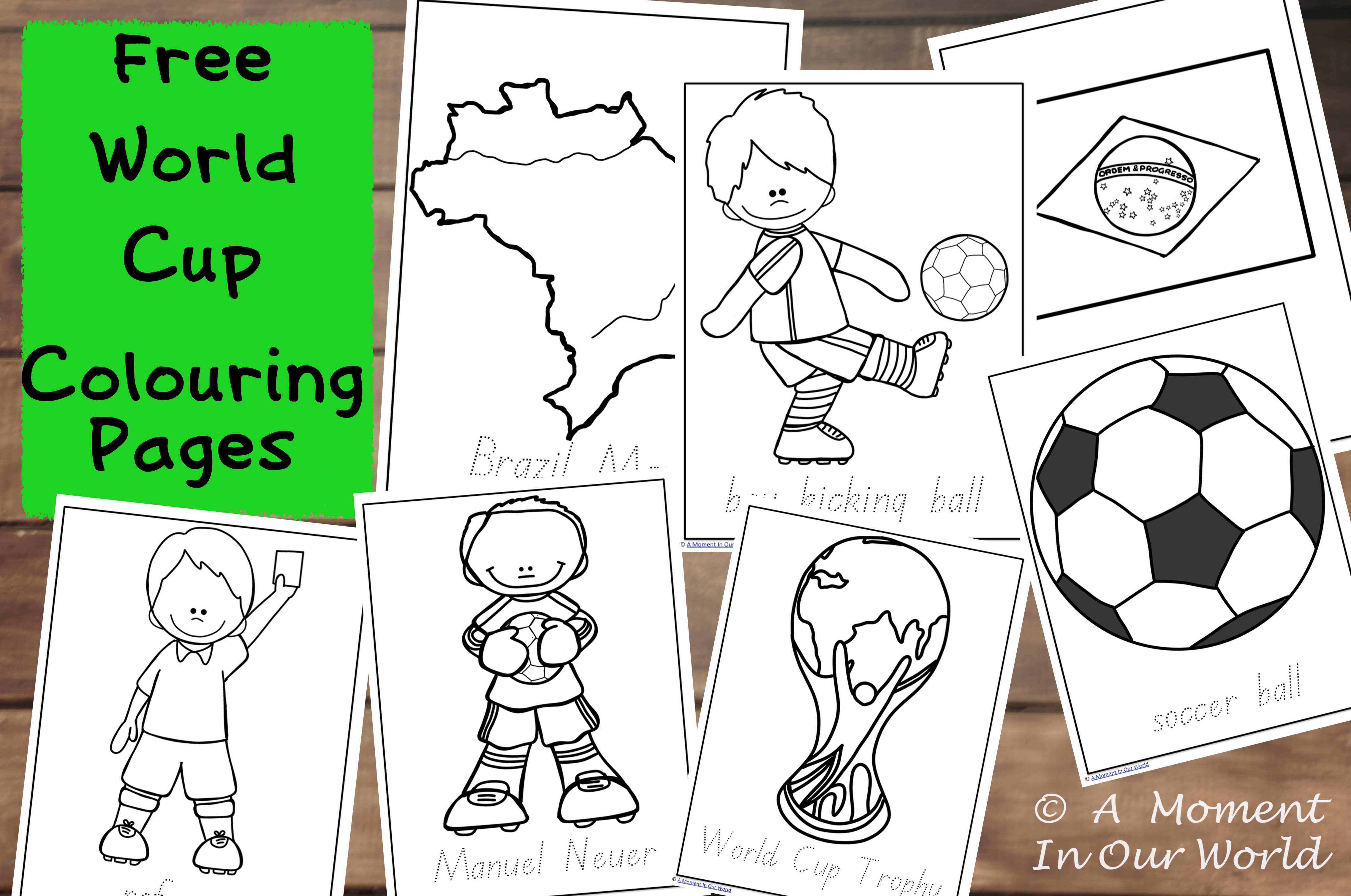 2014 fifa world cup logo coloring pages - Hellokids.com | 3019x4550