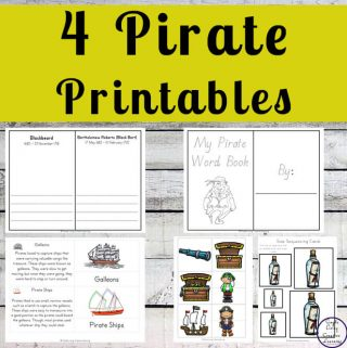 Enjoy these fun Pirate Printables that can be included into any pirate unit.