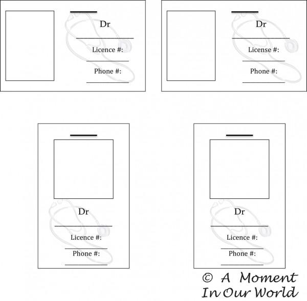 Microsoft Word - Editable Doctors Badges.docx