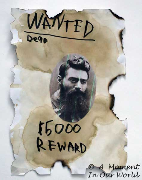 B Wanted Poster