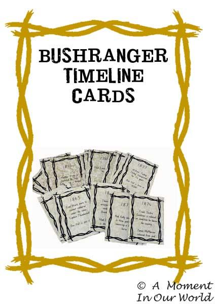 Bushranger Timeline Cards