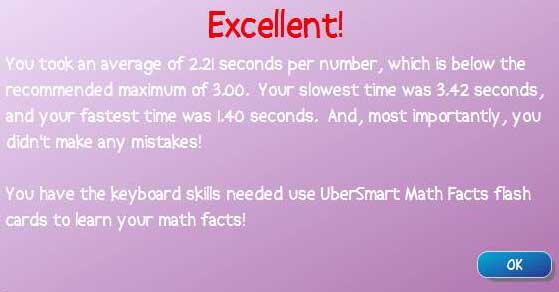 Ubersmart maths keyboard entry 1