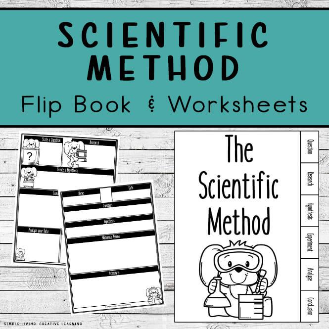Scientific Method Flip Book and Worksheets.