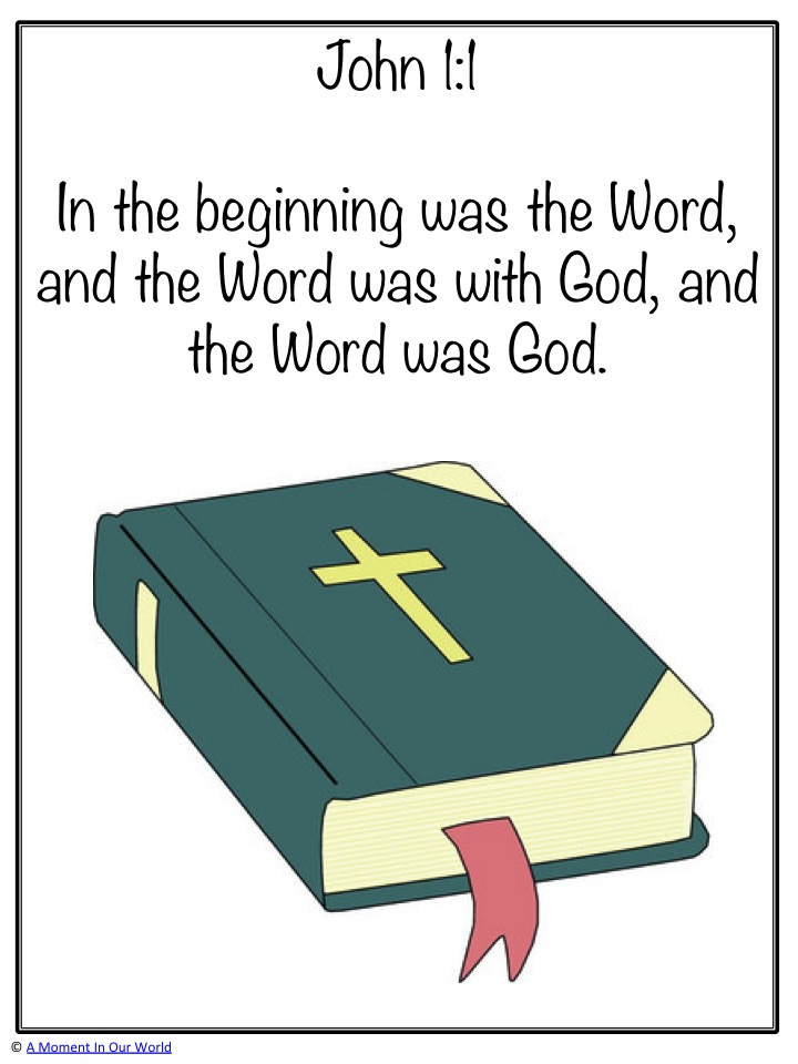 Monday Memory Verse: John 1:1