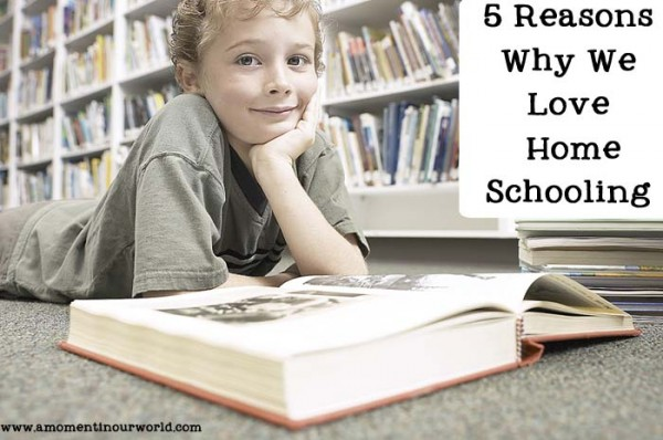 5 Reasons Why we Love Home Schooling
