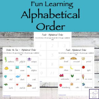 Have fun learning alphabetical order by cutting and pasting the words in the correct order.