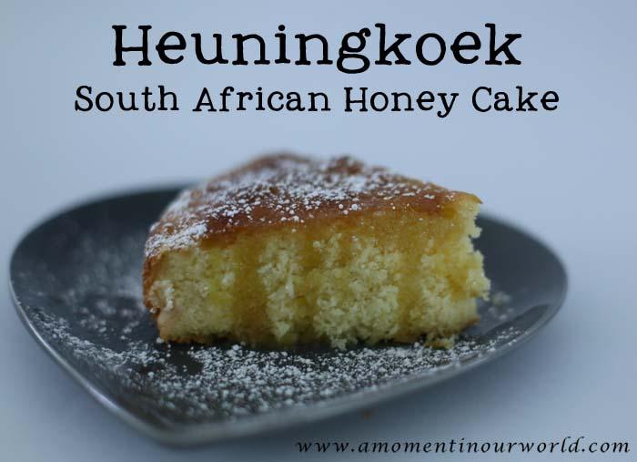 Heuningkoek ( South African Honey Cake)