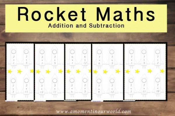 Rocket Maths A and S