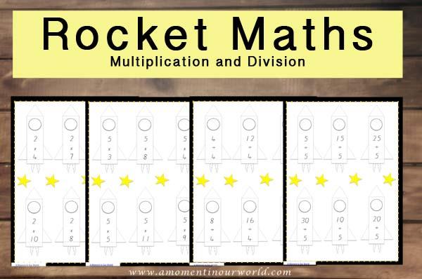 Rocket Maths M and D
