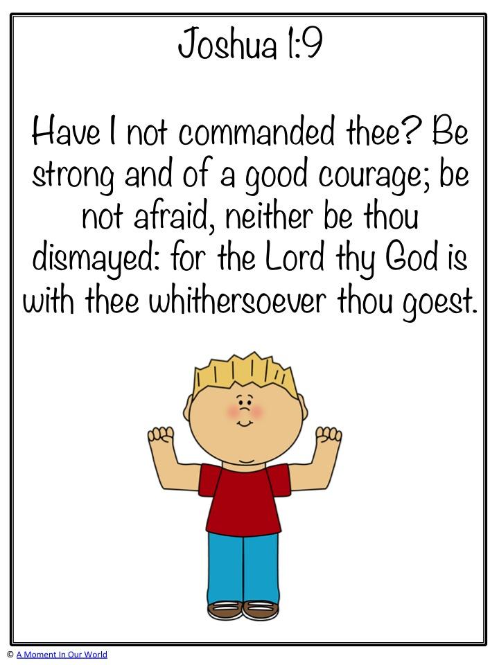 Monday Memory Verse: Joshua 1:9