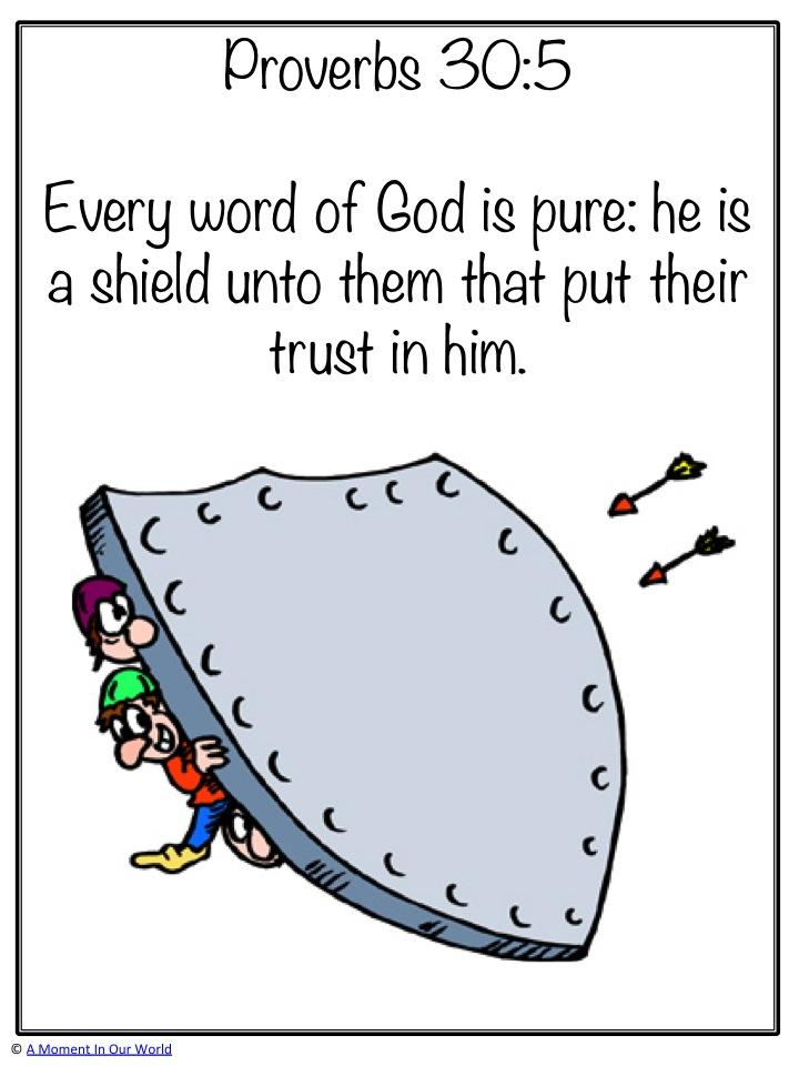 Monday Memory Verse: Proverbs 30:5