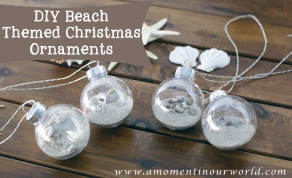 beach christmas ornaments - Beach Themed Christmas Decorations