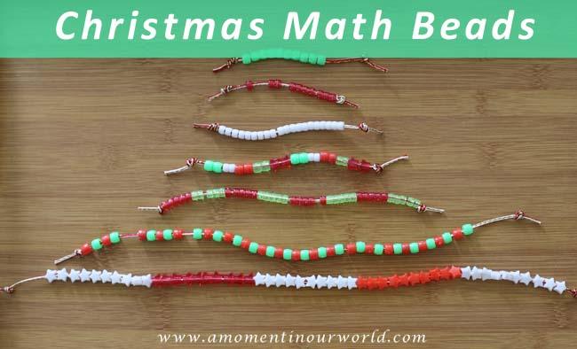 Christmas Math Beads