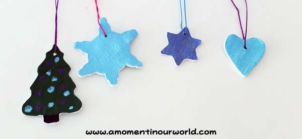 Frozen Inspired Clay Christmas Ornaments 9