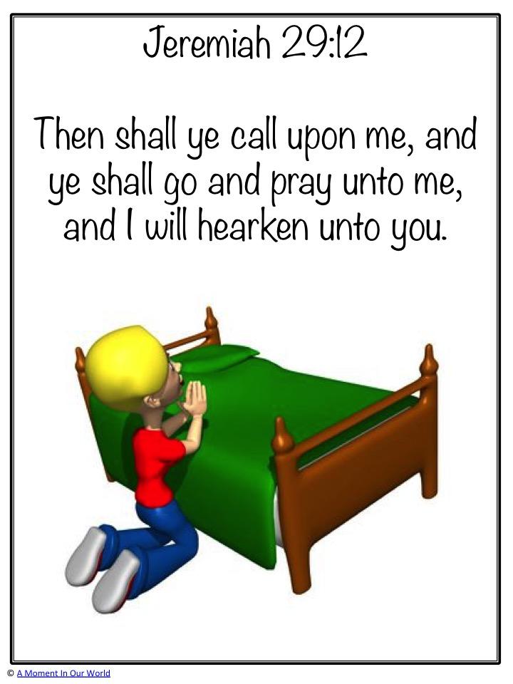 Monday Memory Verse: Jeremiah 29:12