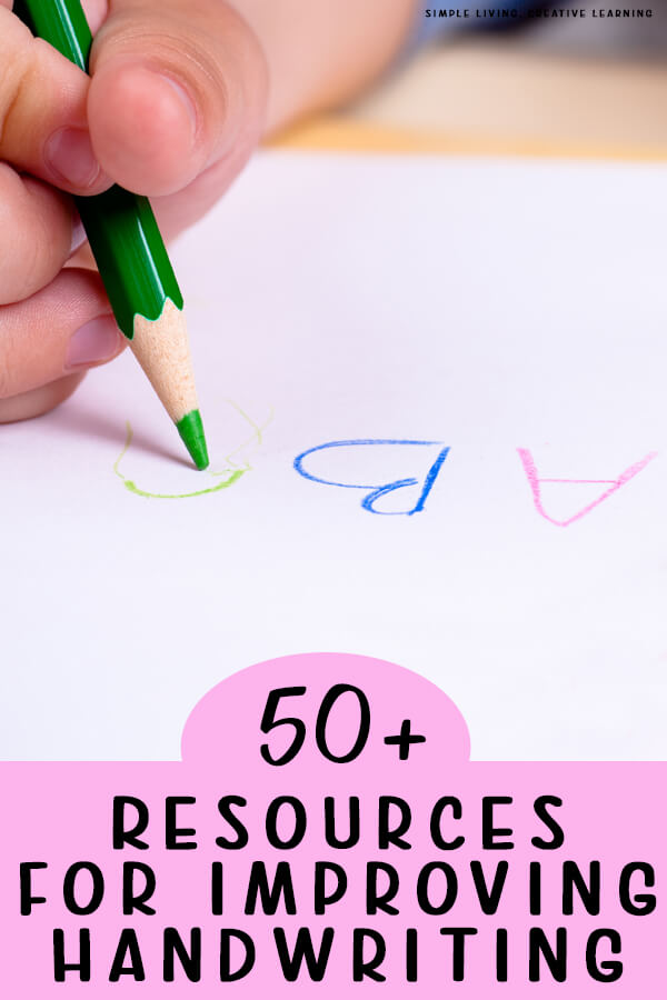 Resources for Improving Handwriting
