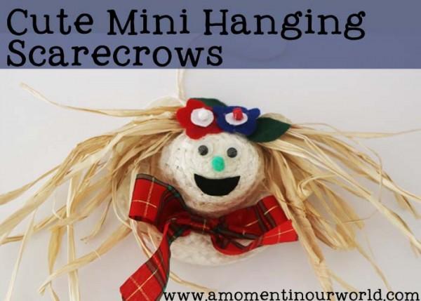 Mini Scarecrows A