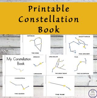 This constellation book is a great way to introduce many of the constellations to your child.