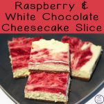 This delicious Raspberry and White Chocolate Cheesecake Slice is easy to make and melts in your mouth!!