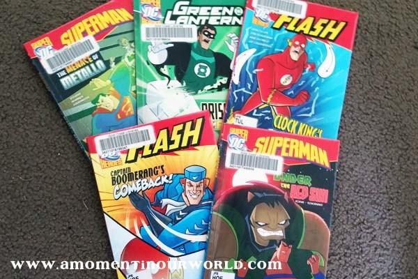 Reading Super Hero Books