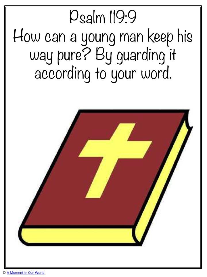 Monday Memory Verse: Psalm 119:9