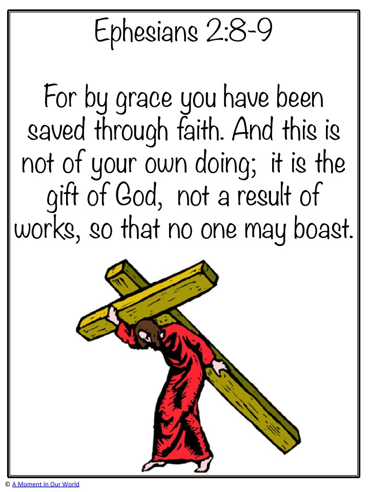Monday Memory Verse: Ephesians 2:8-9