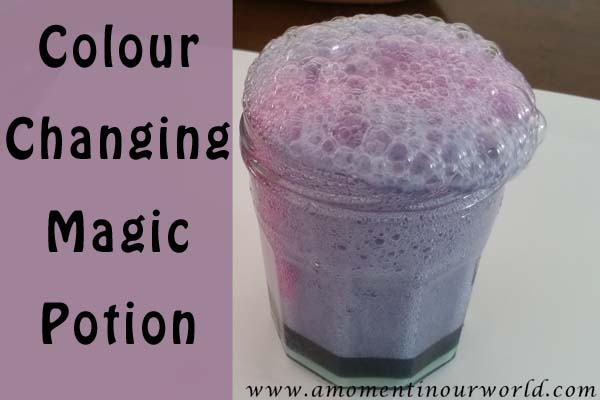 Colour Changing Magic Potion