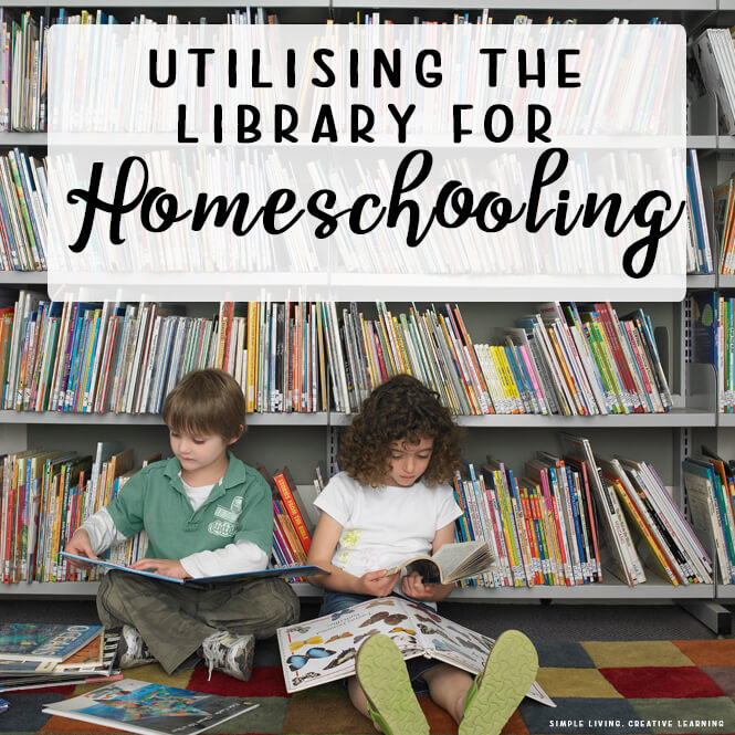Utilising the Library for Homeschooling