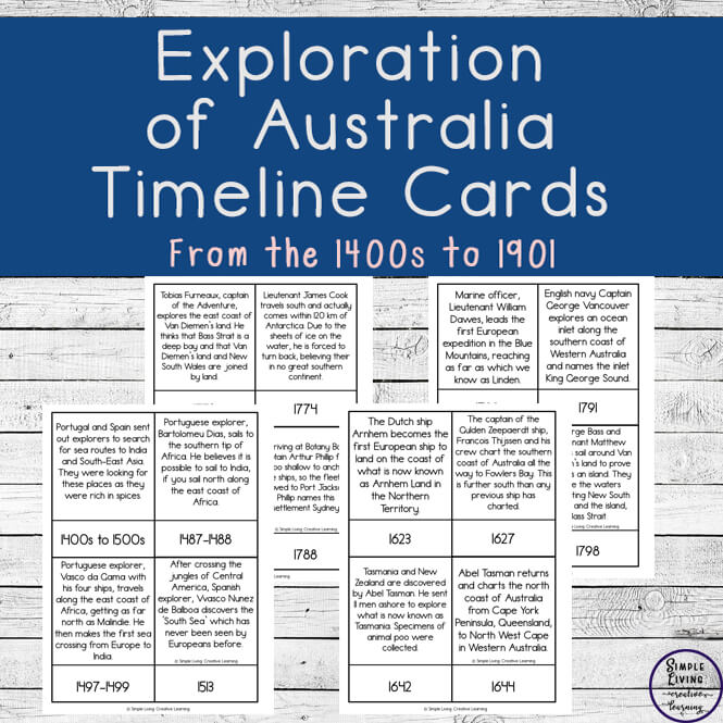 Australian Exploration Cards
