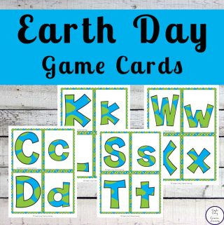 These Earth Day Game Cards that can be used in so many ways like snap, memory and matching games.