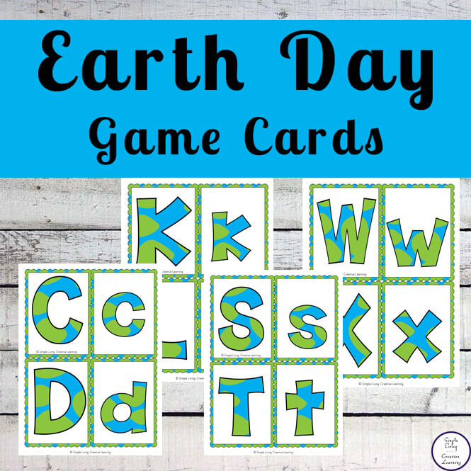 Earth Day Game Cards
