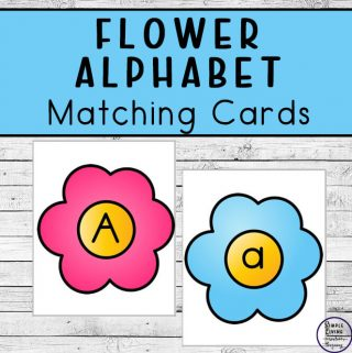 These {FREE} Printable Flower Alphabet Matching Cards can be used in games, to pratice spelling words andarea a great addition to busy bags.
