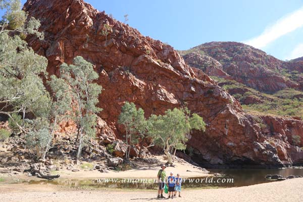 Orminston Waterhole and Gorge